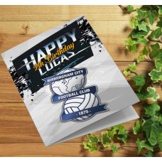 Birmingham City Football Birthday Card