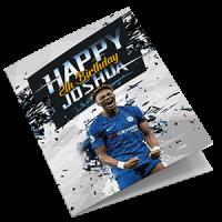 Chelsea Personalised Birthday Card