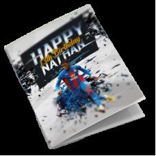 Crystal Palace Personalised Football Birthday Card