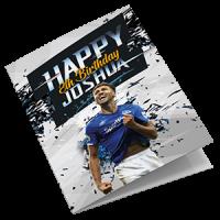Everton Personalised Birthday Card