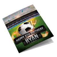 Everton Personalised Birthday Card Featuring Goodison Park