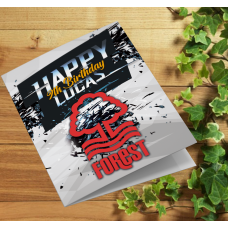 Nottingham Forest Personalised Birthday Card