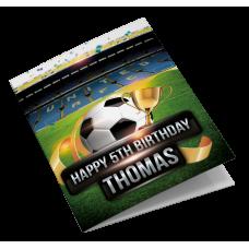 Leeds United Birthday Card Personalised