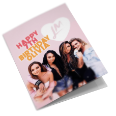 Little Mix Personalised Girls Birthday Card