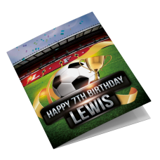 Liverpool Anfield Personalised Birthday Card