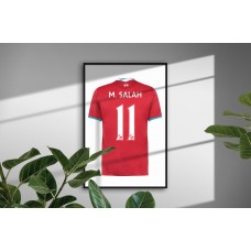 Liverpool Personalised Bedroom Wall Art Poster Print
