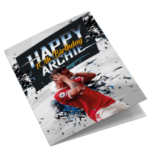 Manchester United Personalised Bruno Fernandes Birthday Card