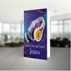 Tik Tok Personalised Birthday Card