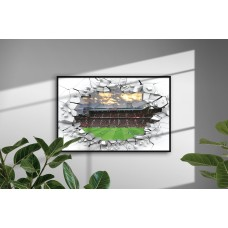 Manchester United Old Trafford Stadium Print