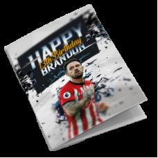 Southampton Personalised Football Birthday Card