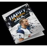 Tottenham Hotspur Personalised Birthday Card
