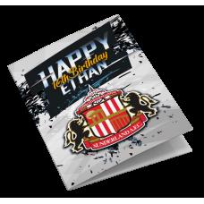 Sunderland Personalised Birthday Card