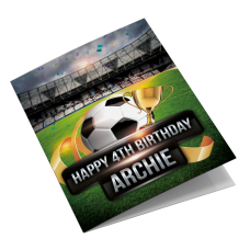 West Ham Personalised Birthday Card
