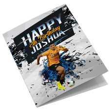 Wolves Personalised Birthday Card
