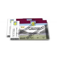 Aston Villa Personalised Birthday Party Invitations