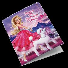 Barbie Personalised Birthday Card