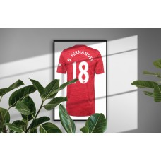 Manchester United Personalised Bedroom Wall Art Poster Print